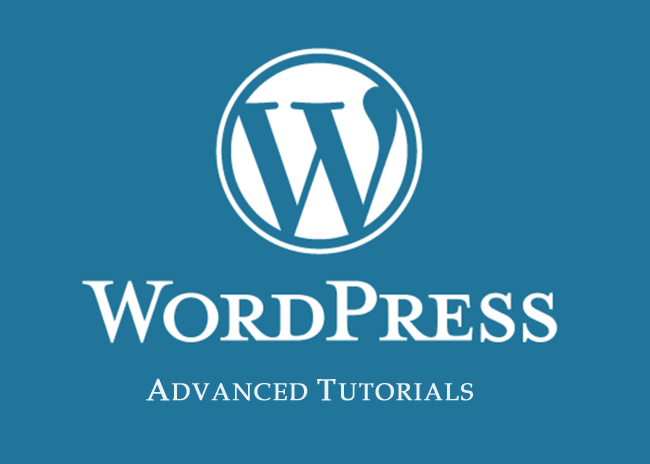 Wordpress Advanced Tutorials