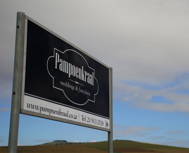 Pampoenkraal_signage